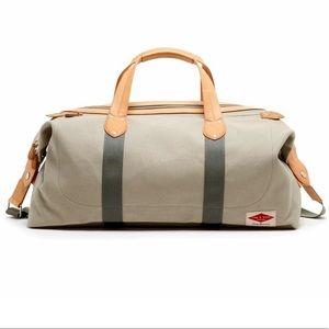Men's Rag & Bone Derby Leather Trim Overnight Bag